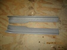 PAIR OF 1997-2003 F150 DOOR SILL PLATE SCUFF PLATES GRAY GREY