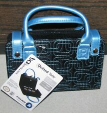 Nintendo DS Lite DSi  Quilted Tote Purse Teal/Black Super Cute! Brand New