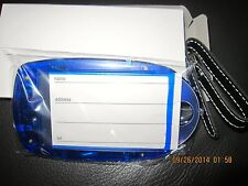 Light-up Luggage tag~ID holder~LED~Motion sensor~light up when moving~NEW in BOX