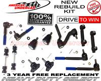 HD Ball Joint Tie Rod Idler Arm Kit for Chevrolet Camaro Nova Pontiac Firebird