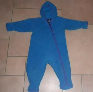 Jako-o Polartec Fleece-Overall,Gr. 80/86,hellblau,guter Zustand