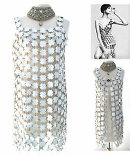 MOST FAMOUS 1960s PACO RABANNE DO IT YOURSELF DRESS FEATURED IN TIME MAGAZINE