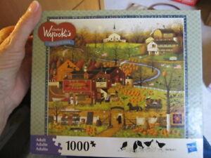 Charles Wysocki 1000 pc puzzle Black Bird's Roost 2009
