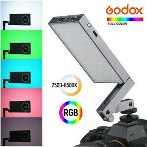 Godox M1 2500-8500K Mini LED RGB Full Color On Camera Video Fill Light Lamp