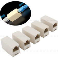New 5pcs Ethernet Lan Cable Joiner Coupler Connector Network RJ45 CAT 5 5E