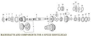 Jim's Transmission Main Bearing Race (Ref# 16) - Standard 35125-37