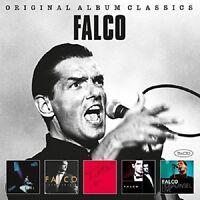 FALCO - ORIGINAL ALBUM CLASSICS 5 CD NEW+