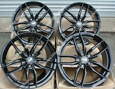 "17"" Black Iota Alloy Wheels Fit Land Range Rover Freelander 2 Evoque Velar 5X108"