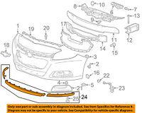 Chevrolet GM OEM 2013 Malibu Front Bumper-Support Frame 22883316