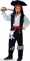 Pirate Boys Fancy Dress Costumes Childrens Kids Book Week Halloween Ages 3-13