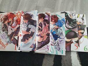 The Testament Of Sister New Devil - Volumes 1-6 English Manga Paperback.