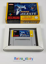 Super Nintendo SNES - Super Aleste - PAL - FAH