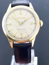 Movado Tempomatic Cal 221 32.75mm Gold Cap Stainless Steel Bumper Movement Watch