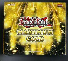 Yu-gi-oh Caja 5 conjuntos de oro Maximum