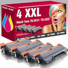 4 Toner für Brother TN2220 HL2240 HL2250DN MFC7360N MFC7460DN MFC7860 DCP7065DN