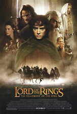LORD OF THE RINGS 1: THE FELLOWSHIP OF THE RING Movie POSTER 27x40 Elijah Wood