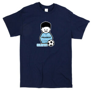 Micky Quinn Football Icon T-shirt - Classic Retro Coventry City Fan Tee Shirt