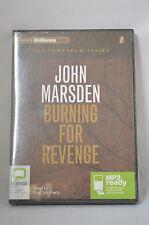 NEW Burning for Revenge by John Marsden Compact Disc Book (English) Free Ship RR