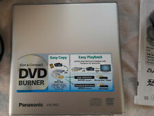 Panasonic VW-BN2 DVD Brenner, Slim & Compact, Easy Copy, Easy Playback