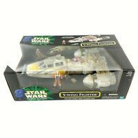 Hasbro Star Wars Power of the Force Y-Wing Fighter with Rebel Pilot New Sealed