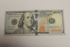 2009A $100 Federal Reserve Note One Hundred Dollar Bill Star Note LG 05787869*
