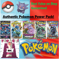 Authentic Pokemon Power Pack - 5 Booster Packs - 1:3 boxes Guaranteed Vintage!