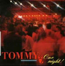 Tommy–One Night (ZYX 2019) Hi-Nrg, Italo Disco, Eurobeat
