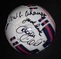 PELÉ - Puma Fußball --NEU-- mit Original Autogramm + WIDMUNG *Autograph* SIGNED*