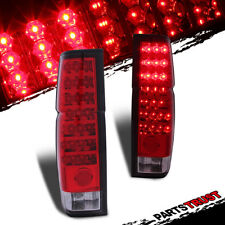 For 1986-1997 Nissan Hardbody D21 Pickup Model Only Red LED Taillights RearLamps