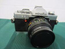 Minolta XG-9 35mm SLR Silver Camera w/ MD Rokkor-X 50mm F/1.7 Lens - STUDENT