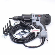 220V Electrical Rivet Nut Gun Riveter Gun Riveting Tool M4/M5/M6/M8/M10