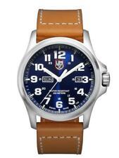Luminox ATACAMA FIELD Stainless Steel Blue Dial Leather Band Men's Watch XL.1924