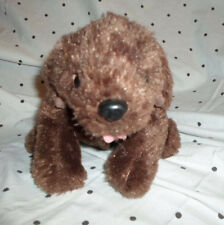 "Kiddesigns Brown Barbie Puppy Dog 12"" Plush Soft Toy Stuffed Animal"