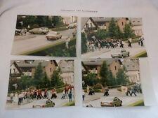 Dokumentarfotos Schützenmarsch Heidekompanie 1987 Rotheweg Paderborn 4 Stück