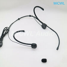 Folded Wireless Headset Microphone for Shure Audio Technica MiPro Akg Sennheiser