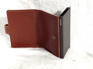 SECRID GENUINE LEATHER CREDIT CARD WALLET. Very lightly used. Nice