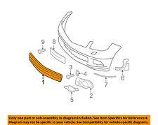MERCEDES OEM 08-11 C300 Front Bumper-Center Grille 2048850153