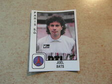original FOOTBALL STICKERS PANINI FOOT 90 1990 Joel BATS PSG (Nr 254)