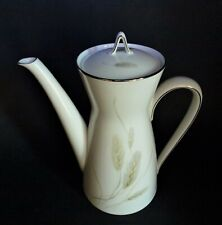 ROSENTHAL CERES WHEAT CLASSIC MOD PLATINUM COFFEE POT WITH LID