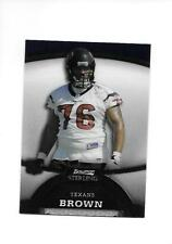 2008 BOWMAN STERLING DUANE BROWN RC (Texans)