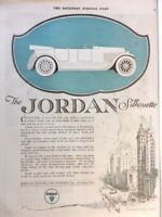 1920 Jordon Motor Cleveland Vintage Advertisement Print Art Car Ad Poster LG68