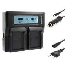 BATTERIA Caricabatterie Dual Charger per Canon lp-e10 | EOS 1100d 1200d 1300d, ecc | 90342