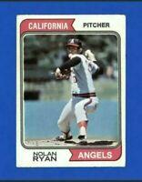 1974 Topps Nolan Ryan Baseball Card #20 California Angeles HOF