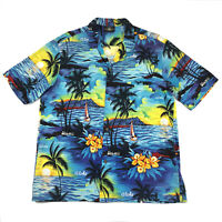 Royal Creations Mens XL Shirt Hawaiian Aloha Short Sleeve Vintage Hawaii
