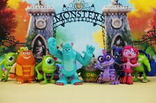 Disney Pixar Monster University Sulley & Friends Figure Cake Topper Set 10