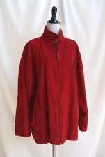 Boundary Waters Size Large Wide Wale Corduroy Coat/Jacket Deep Red Pockets Lined