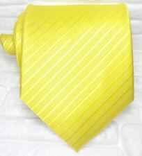 Cravatta Uomo Lusso Oro nuova 100% seta Top quality Made in Italy Morgana brand