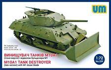 UniModels — M10A1 tank destroyer — Plastic model kit 1:72 Scale #229