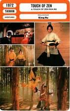 FICHE CINEMA : TOUCH OF ZEN - Bai,Chan,King Hu 1972 A Touch of Zen/Xia Nu