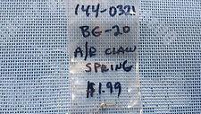 Daiwa BG-20 Anti Reverse Claw Spring # 144-0321